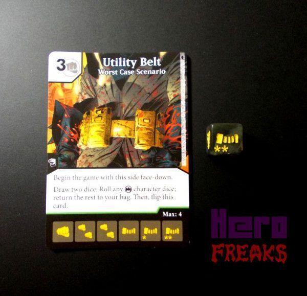 Dice Masters DC Batman - 080 Utility Belt (U)