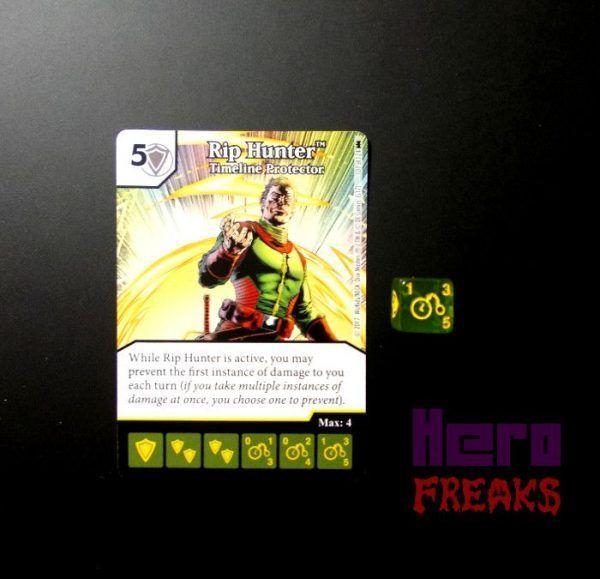 Dice Masters DC Batman - 107 Rip Hunter (R)