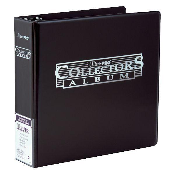 Carpesano Ultra Pro Collectors Album 3 Anillas Negro