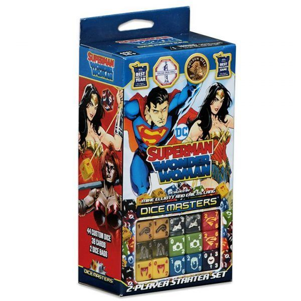 Dice Masters DC Superman and Wonder Woman Starter Set