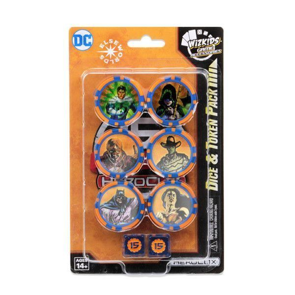Heroclix DC 15th Anniversary Elseworlds - Dice & Token Pack
