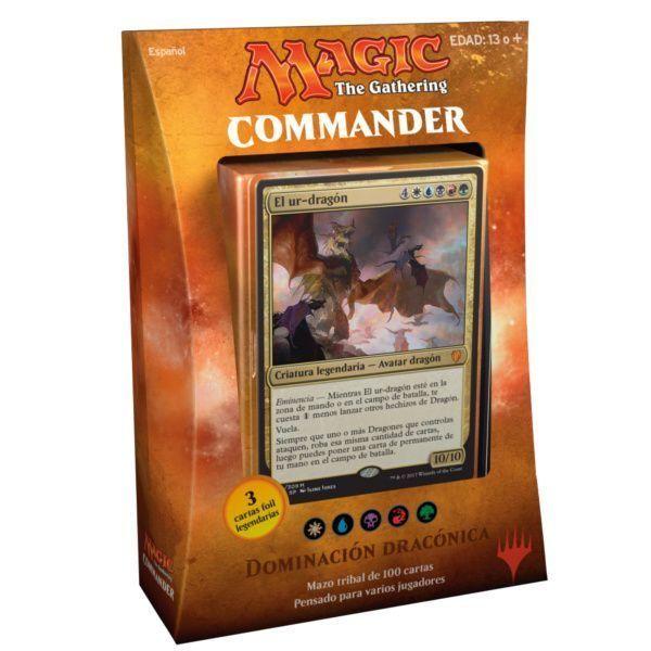 MTG Commander 2017 Dominación Dracónica