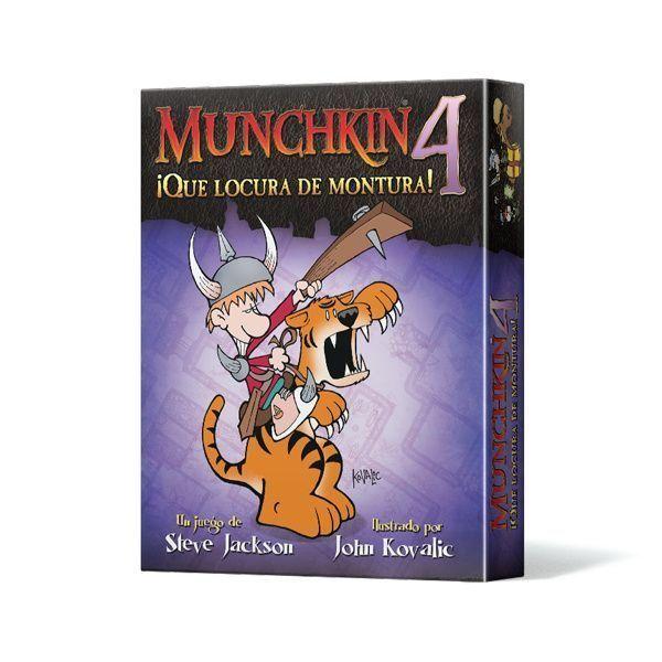Munchkin 4 ¡Qué Locura de Montura!
