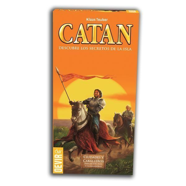 Catan Ciudades y Caballeros 5 - 6 Jugadores