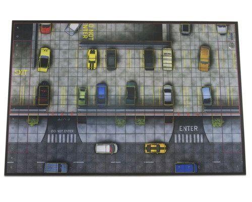 Heroclix Mapas Premium Parking Garage