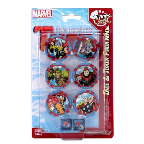 Heroclix Marvel The Mighty Thor - Dice & Token Pack
