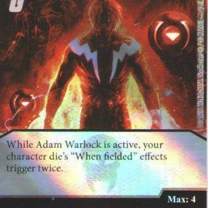 Dice Masters Marvel Guardians of the Galaxy 001 Adam Warlock (C) FOIL