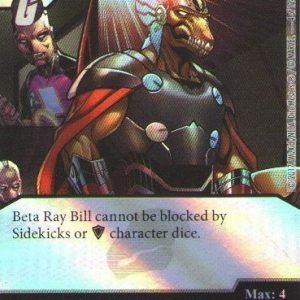 Dice Masters Marvel Guardians of the Galaxy 004 Beta Ray Bill (C) FOIL
