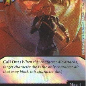 Dice Masters Marvel Guardians of the Galaxy 005 Black Widow (C)