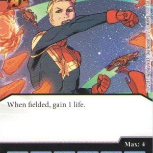 Dice Masters Marvel Guardians of the Galaxy 007 Captain Marvel (C)