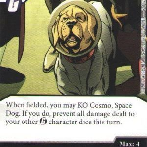 Dice Masters Marvel Guardians of the Galaxy 009 Cosmo Space Dog (C)