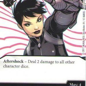 Dice Masters Marvel Guardians of the Galaxy 010 Daisy Johnson (C)