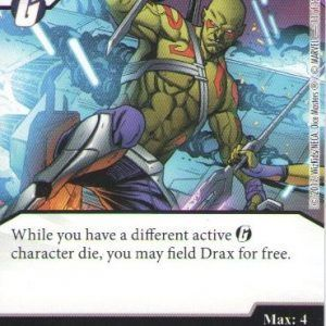 Dice Masters Marvel Guardians of the Galaxy 011 Drax (C)