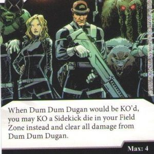 Dice Masters Marvel Guardians of the Galaxy 012 Dum Dum Dugan (C)