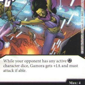 Dice Masters Marvel Guardians of the Galaxy 013 Gamora (C)