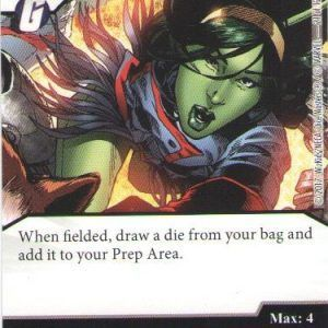 Dice Masters Marvel Guardians of the Galaxy 021 Mantis (C)
