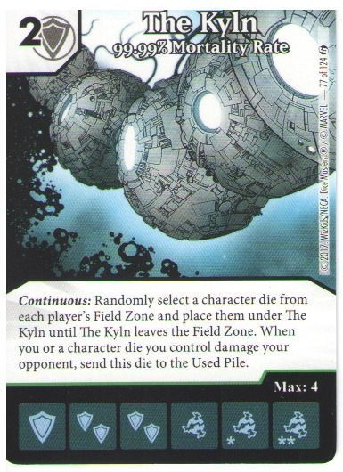 Dice Masters Marvel Guardians of the Galaxy 077 The Kyln (U)
