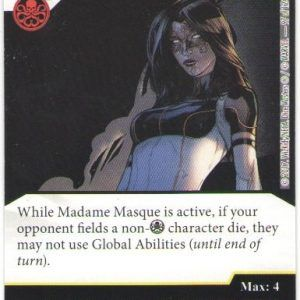Dice Masters Marvel Guardians of the Galaxy 097 Madame Masque (R)
