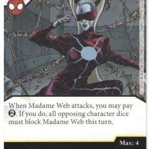 Dice Masters Marvel Guardians of the Galaxy 098 Madame Web (R)