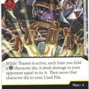 Dice Masters Marvel Guardians of the Galaxy 111 Thanos (R)