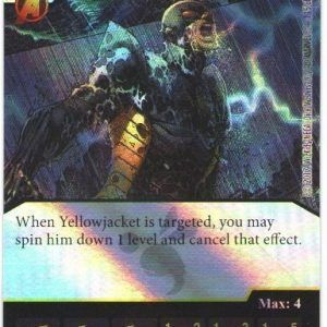 Dice Masters Marvel Guardians of the Galaxy 115 Yellow Jacket (R) FOIL