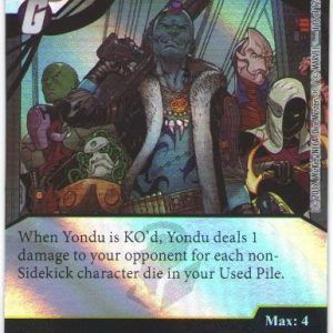 Dice Masters Marvel Guardians of the Galaxy 116 Yondu (R) FOIL