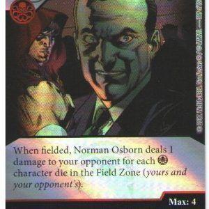 Dice Masters Marvel Guardians of the Galaxy 119 Norman Osborn (SR)