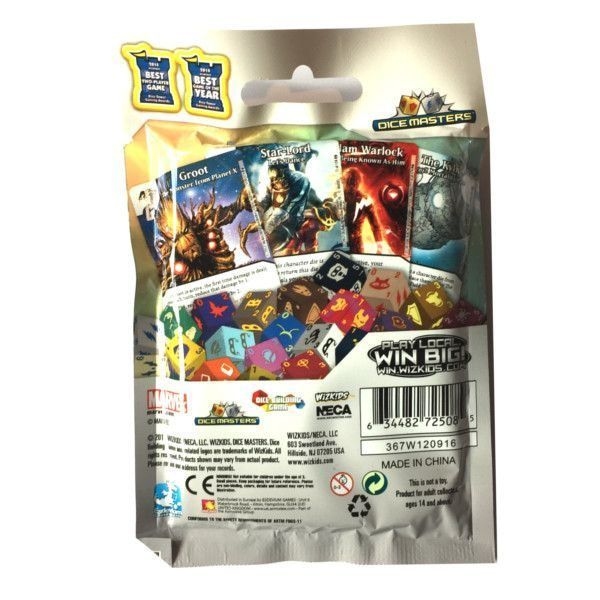 Dice Masters Marvel Guardians of the Galaxy - Sobre