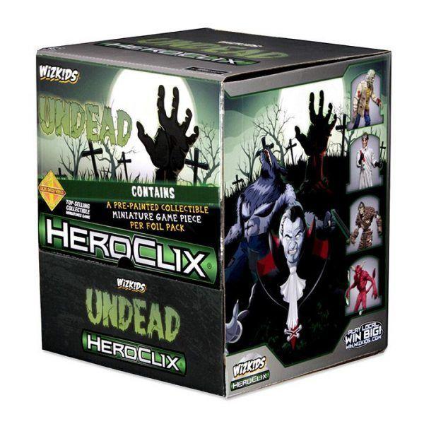 Heroclix Undead - Gravity Feed 3