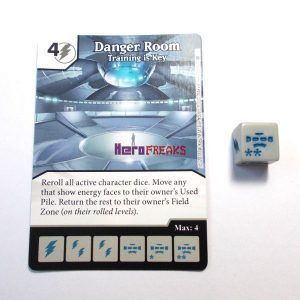 Dice Masters X-Men First Class - 011 Danger Room (C)