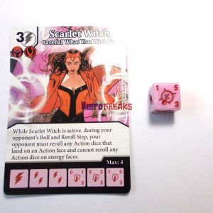 Dice Masters X-Men First Class - 031 Scarlet Witch (C)