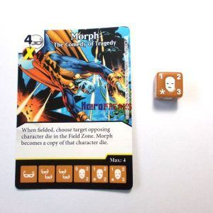 Dice Masters X-Men First Class - 098 Morph (R)