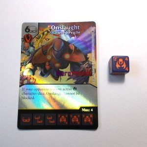 Dice Masters X-Men First Class - 100 Onslaught (R) FOIL