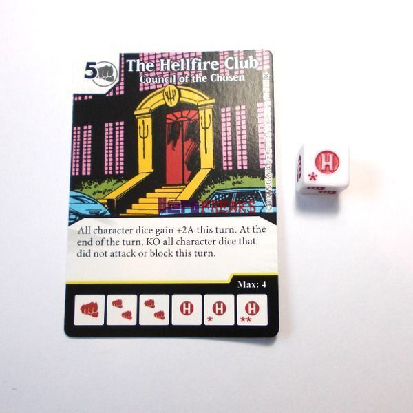 Dice Masters X-Men First Class - 113 The Hellfire Club (R)