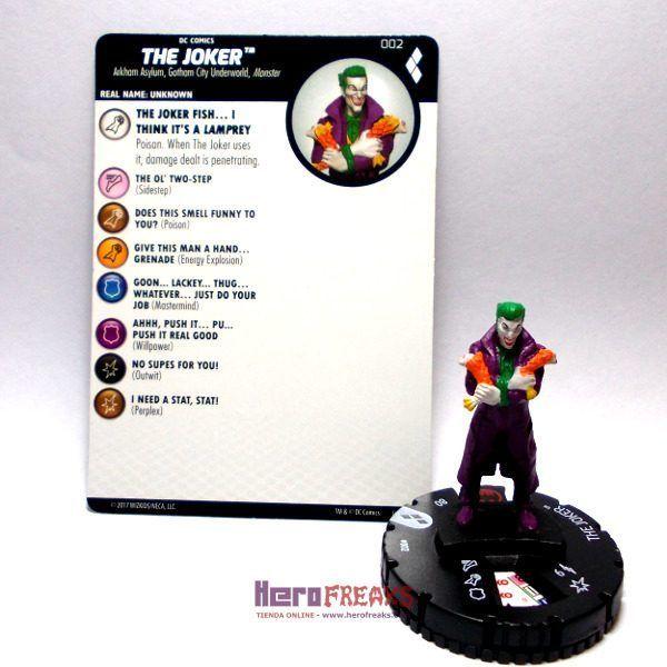 Heroclix DC Harley Quinn and the Gotham Girls – 002 The Joker