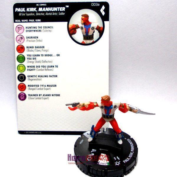 Heroclix DC Harley Quinn and the Gotham Girls – 003a Paul Kirk Manhunter