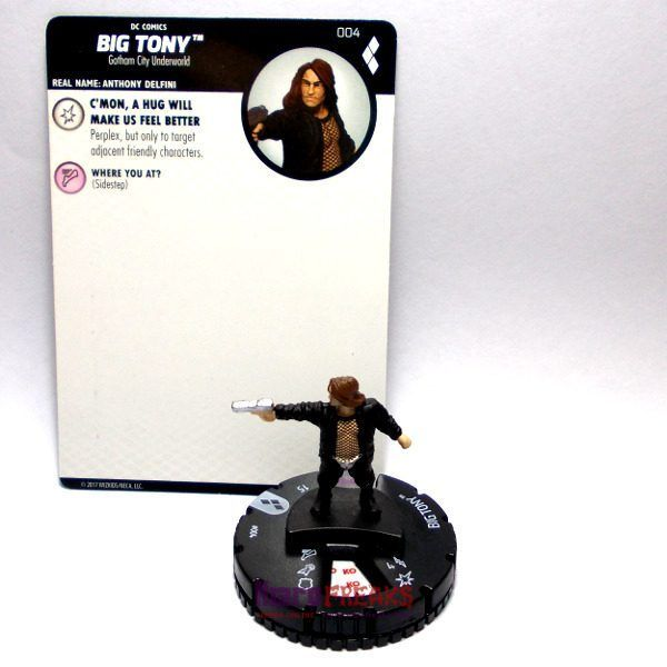Heroclix DC Harley Quinn and the Gotham Girls – 004 Big Tony