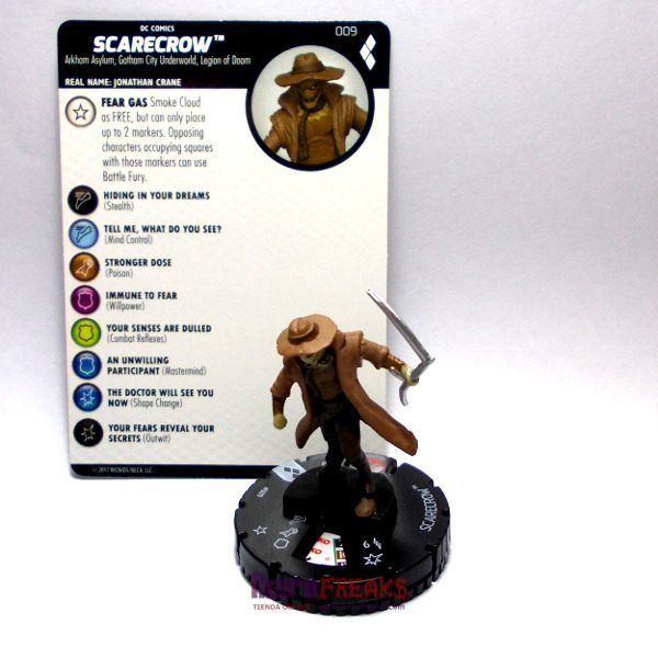 Heroclix DC Harley Quinn and the Gotham Girls – 009 Scarecrow