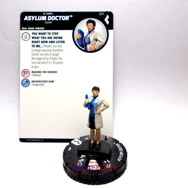 Heroclix DC Harley Quinn and the Gotham Girls – 011 Asylum Doctor