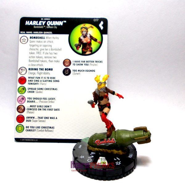 Heroclix DC Harley Quinn and the Gotham Girls – 017 Harley Quinn