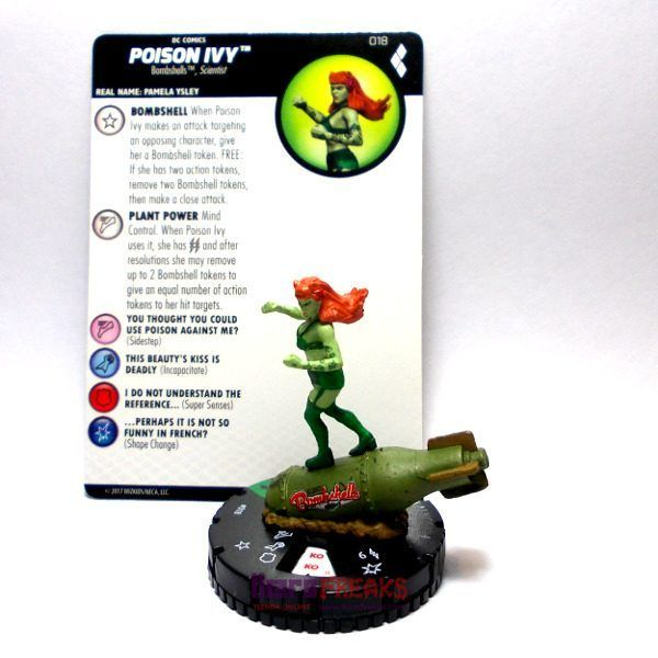 Heroclix DC Harley Quinn and the Gotham Girls – 018 Poison Ivy