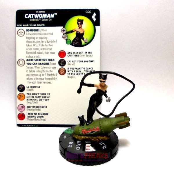 Heroclix DC Harley Quinn and the Gotham Girls – 020 Catwoman