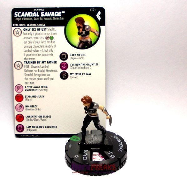 Heroclix DC Harley Quinn and the Gotham Girls – 021 Scandal Savage