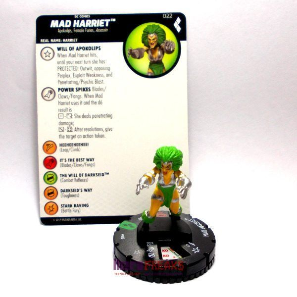Heroclix DC Harley Quinn and the Gotham Girls – 022 Mad Harriet
