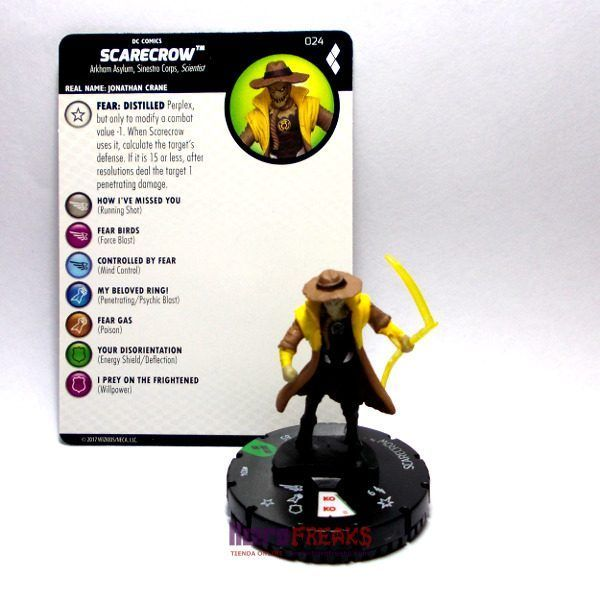 Heroclix DC Harley Quinn and the Gotham Girls – 024 Scarecrow