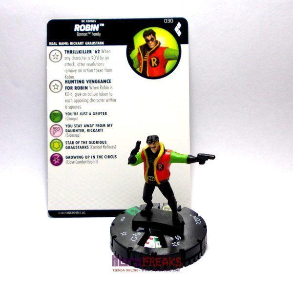 Heroclix DC Harley Quinn and the Gotham Girls – 030 Robin