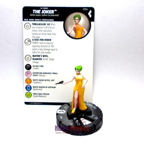 Heroclix DC Harley Quinn and the Gotham Girls – 034 The Joker