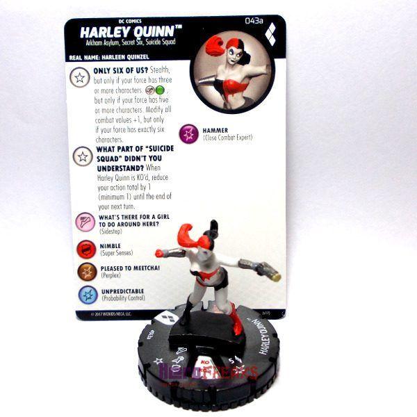 Heroclix DC Harley Quinn and the Gotham Girls – 043a Harley Quinn