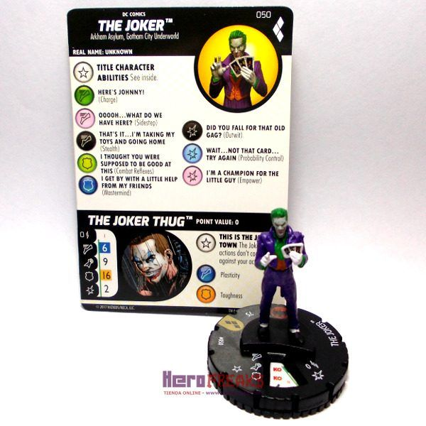 Heroclix DC Harley Quinn and the Gotham Girls – 050 The Joker