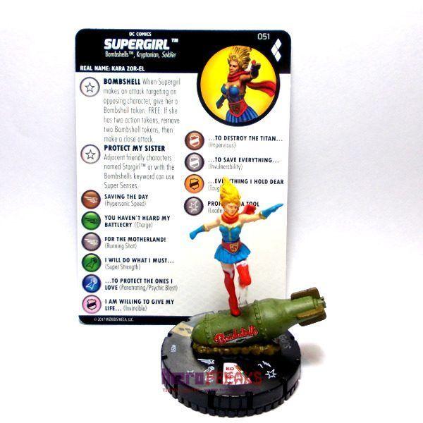 Heroclix DC Harley Quinn and the Gotham Girls – 051 Supergirl